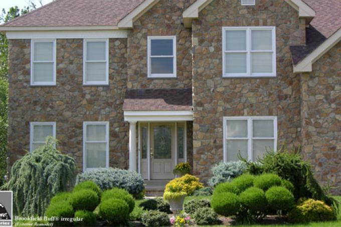 Real Stone Veneers Brookfield Buff Fieldstone®