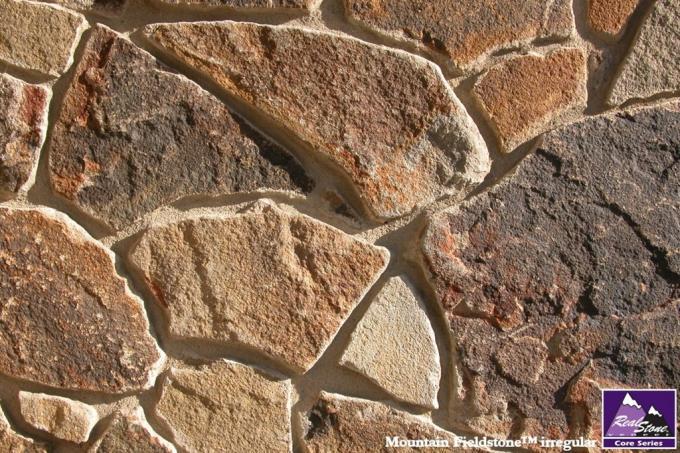 Real Stone Veneer Mountain Fieldstone