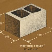 10 x 8 x 16 Concrete Block