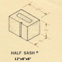 12 x 8 x 8 Concrete Block